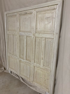 Queen Headboard made of French Panels
