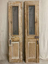 Load image into Gallery viewer, Pair of French Doors with Iron Inserts