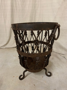 Pair of Iron Baskets