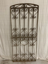 Load image into Gallery viewer, French Iron Panel with Rare Arch
