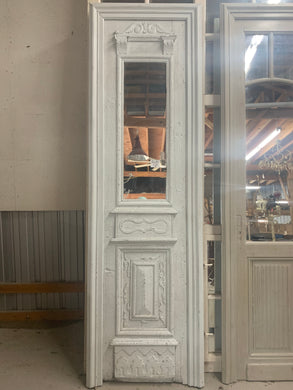 French Hand-carves door made into Mirror