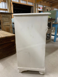 Painted White Pine Server