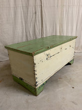 Load image into Gallery viewer, Antique Trunk with Original Paint