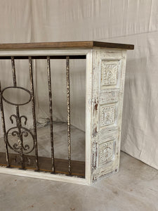 Iron Console/ Entryway Table