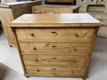 Load image into Gallery viewer, Pine Chest of Drawers