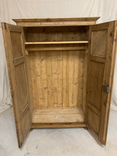 Load image into Gallery viewer, European Pine Armoire