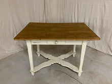Load image into Gallery viewer, Pine Table/Desk with X-Stretcher Base