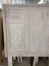Load image into Gallery viewer, Queen Headboard made with French Door Panels