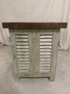 Shutter Side Table