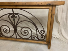 Load image into Gallery viewer, Console made from 1880's French Iron Door Transom
