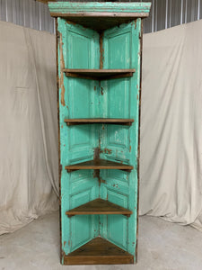 Corner Cabinet made from 1890's French Interior Doors
