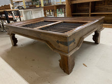 Load image into Gallery viewer, Coffee Table made from Teak Window Unit