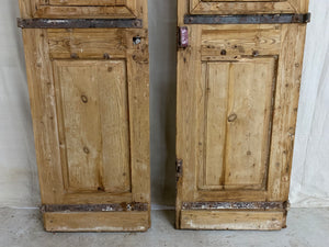 Pair of French Hand Carved Doors