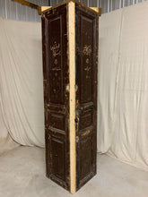 Load image into Gallery viewer, Corner Cabinet made from 1890's French Interior Doors