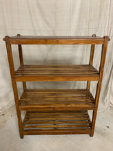 Load image into Gallery viewer, Teak Shelving/ Drying Rack