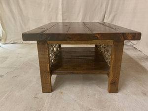 Coffee Table made with French Iron