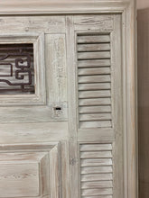 Load image into Gallery viewer, King Headboard- French Iron, Door and shutters