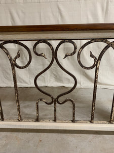 French Iron Console