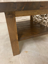 Load image into Gallery viewer, Coffee Table made with French Iron