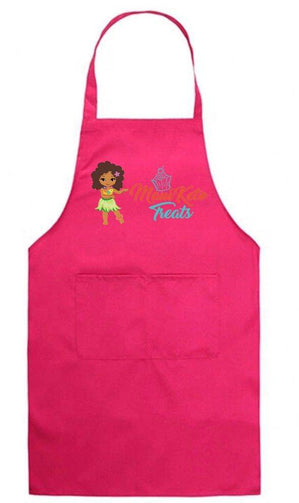 Maui Keto Treats custom Premium Deluxe Adjustable Apron with 2 Pockets - Maui Keto Treats