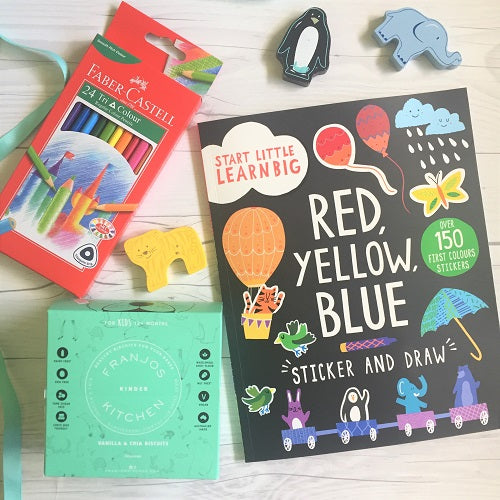 Colour me happy // kids gift box