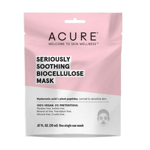 Seriously soothing biocellulose mask