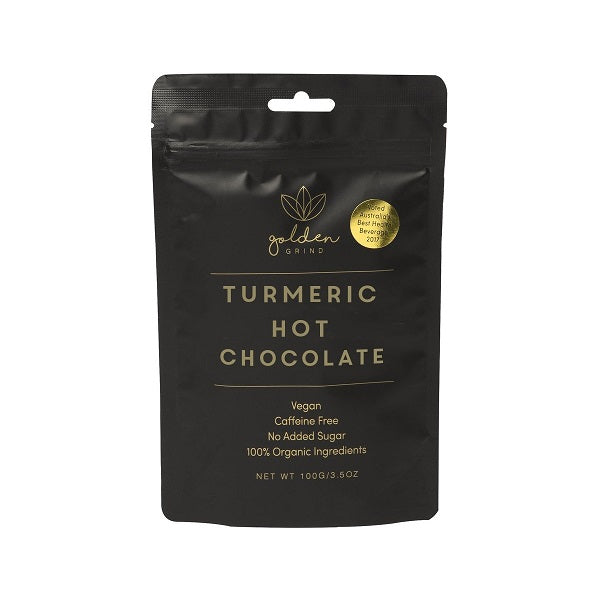 Turmeric hot chocolate blend // Golden Grind 100gm