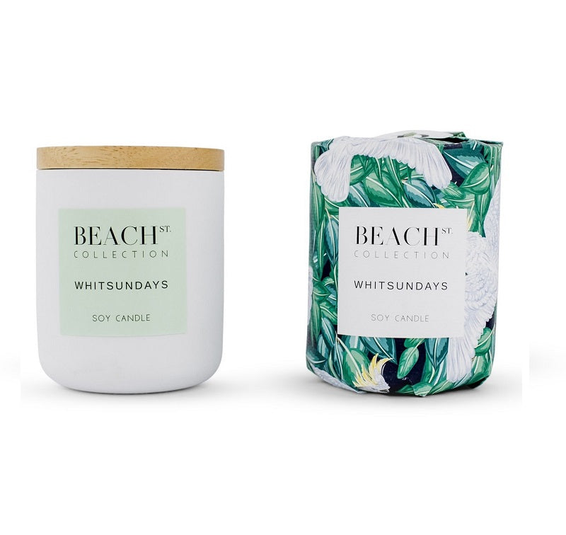 Beach st candle // Whitsundays