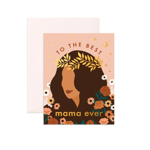 Best mama ever // card