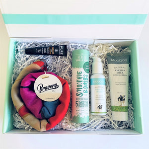 Cancer gift box - Bravery Co head scarf moo goo
