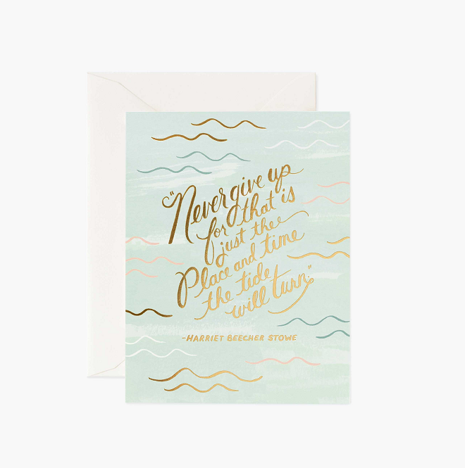 Card // Encouragement