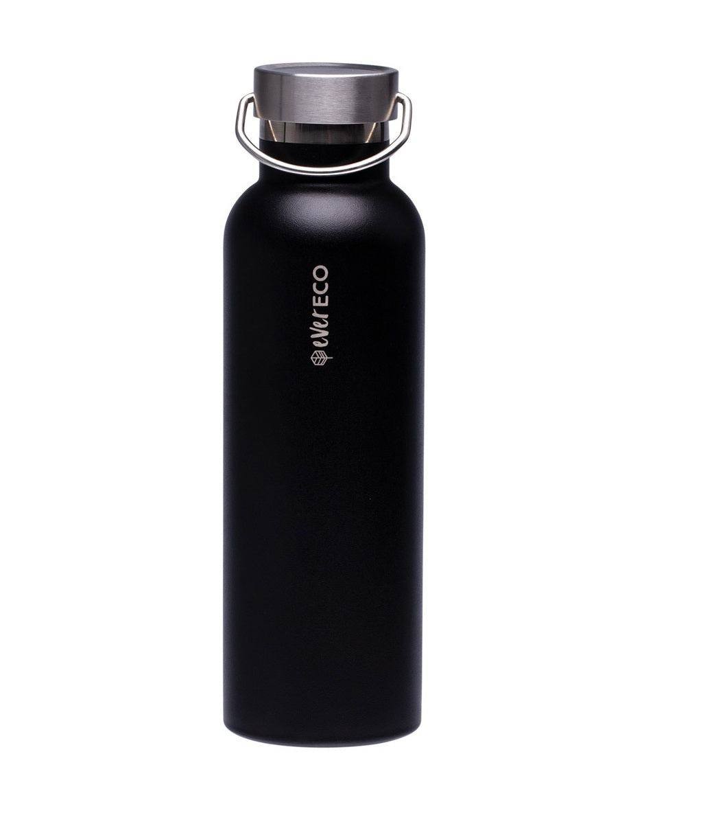 Insulated drink bottle 750ml // Onyx