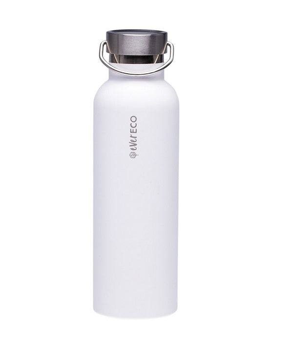 Insulated drink bottle 750ml // White
