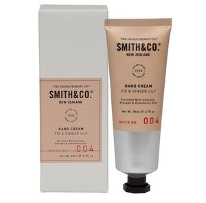 Smith & Co hand cream // fig & ginger lily