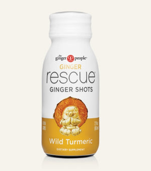 Ginger shot with wild turmeric