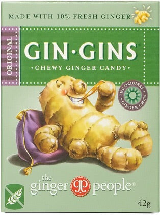 Gin gins - chewy ginger candy
