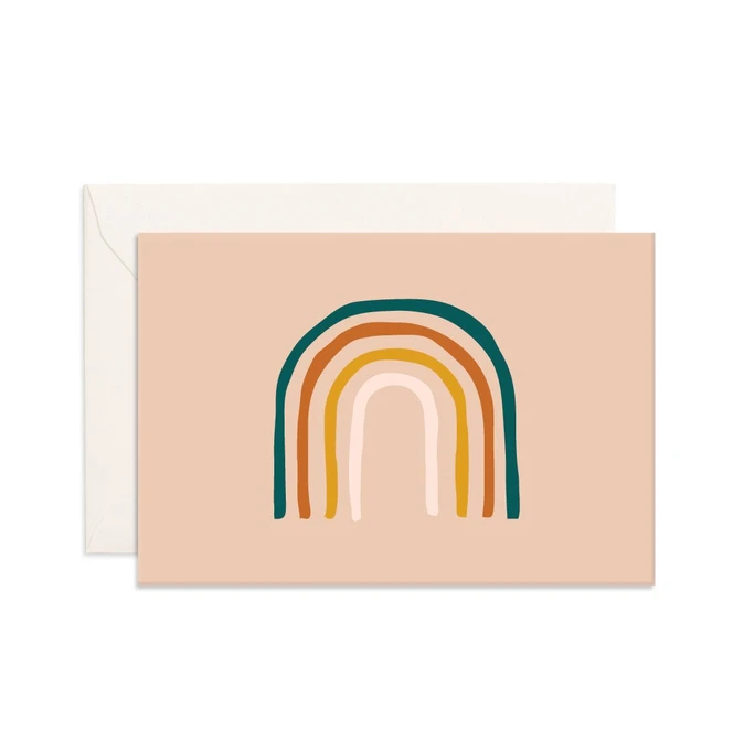 Mini rainbow // card