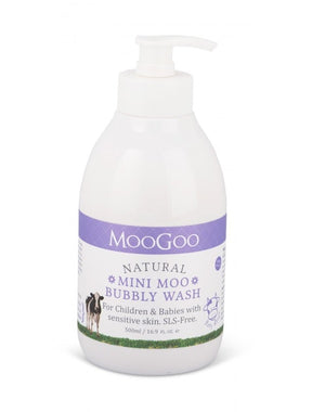 Mini moo bubbly wash 550ml // Moo Goo