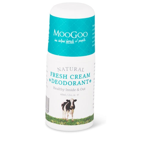 Fresh cream deodorant // Moo Goo