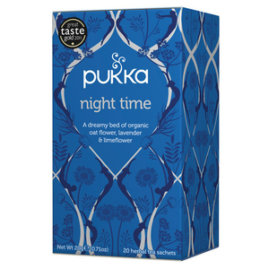 Pukka tea // Night time