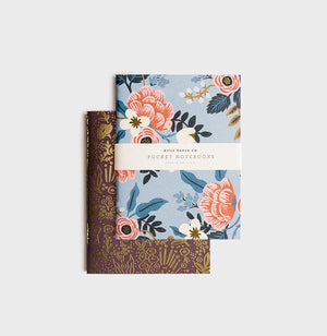 Rifle paper co // Pack of 2 notebooks - Birch