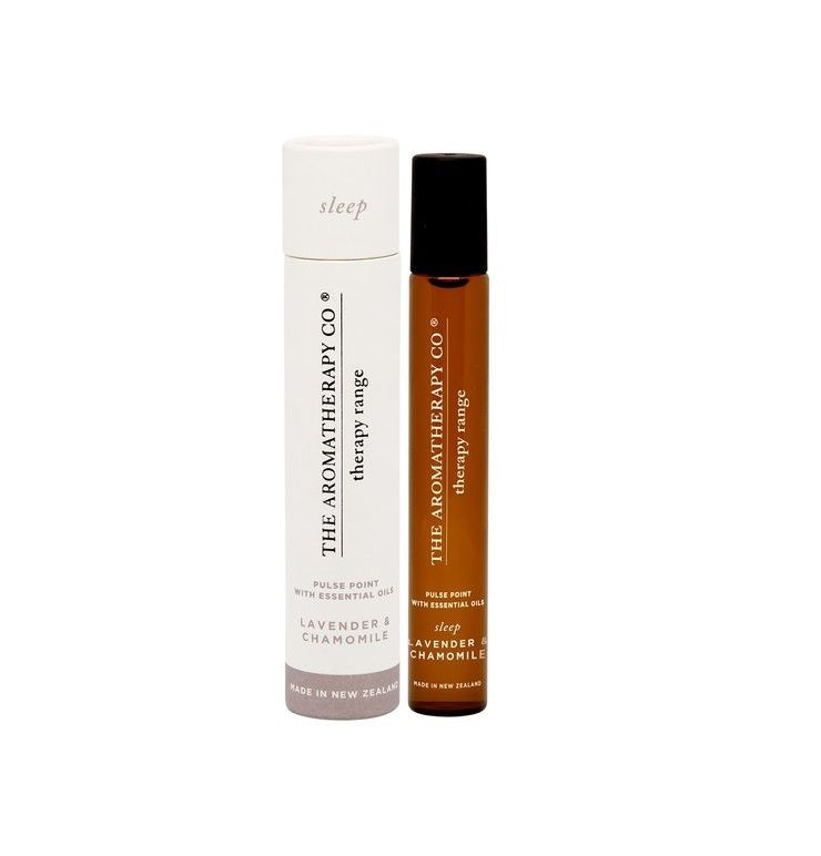 Sleep aromatherapy pulse point // The Aromatherapy Company