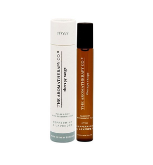 the aromatherapy company stress pulse point / peppermint and lavender