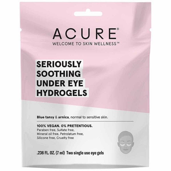 Seriously soothing under eye hydrogels
