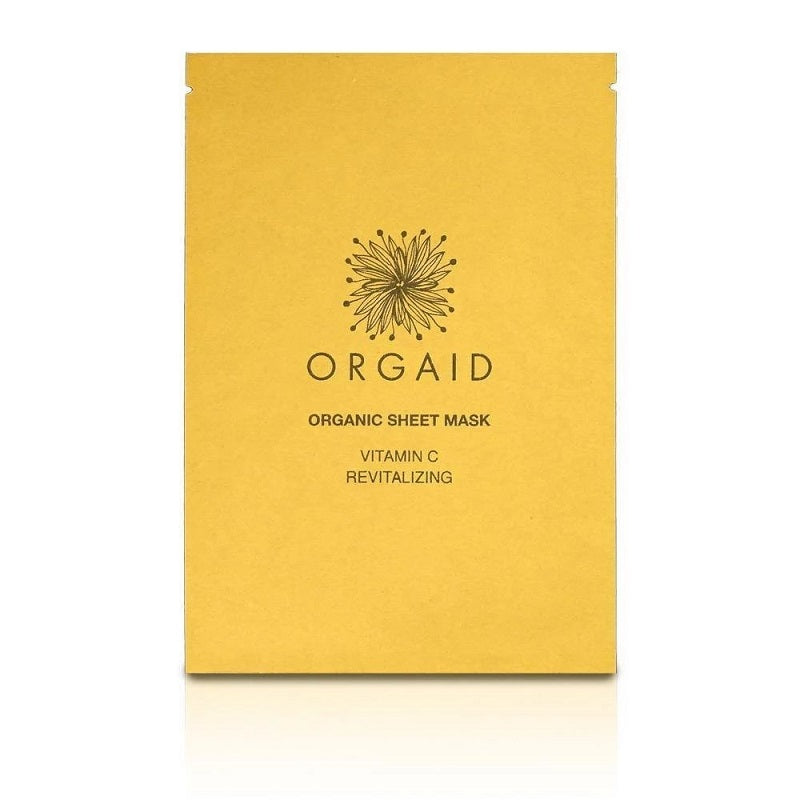Vitamin C & revitalizing face mask // Orgaid