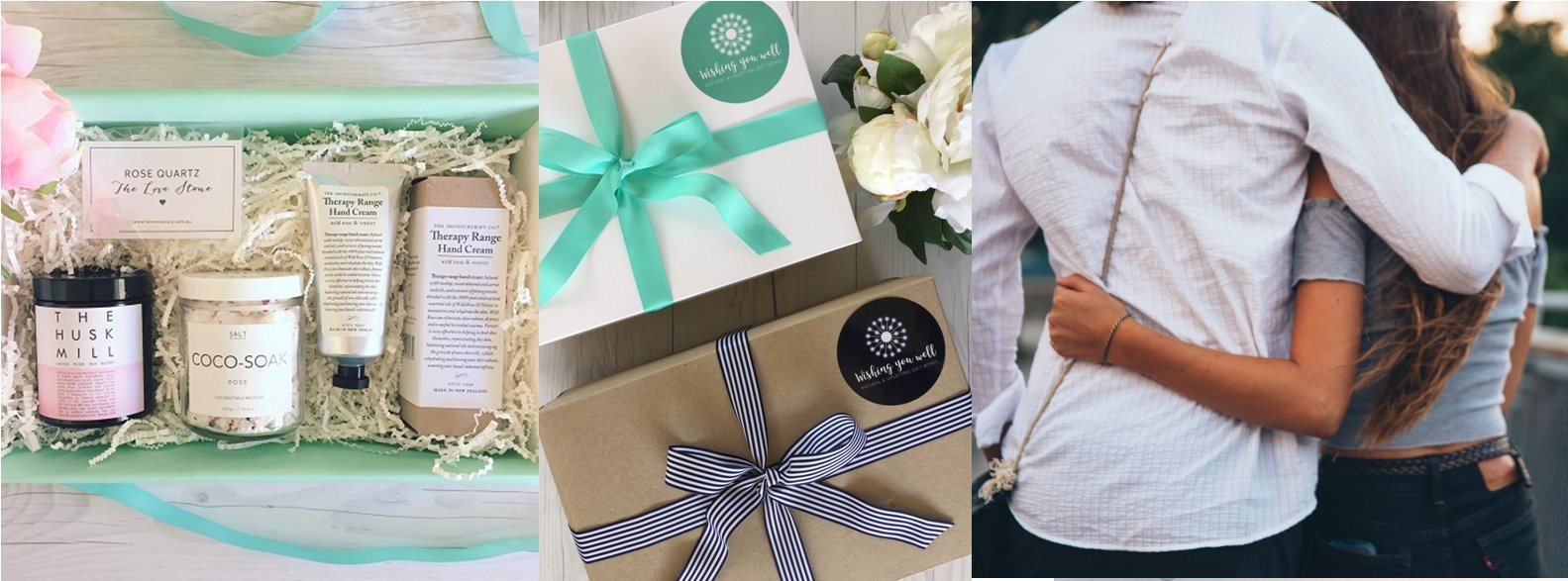 Natural and therapeutic gift hampers