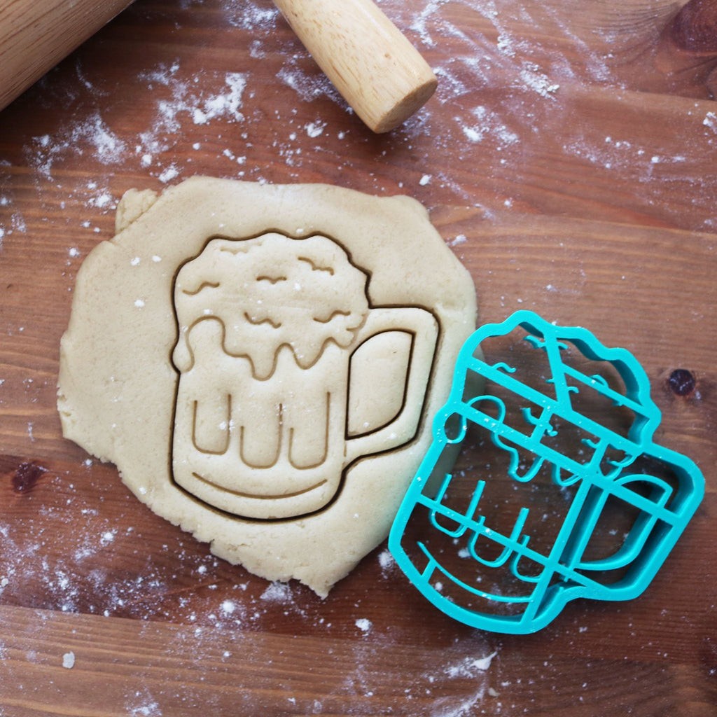 Beer Mug Cookie Cutter