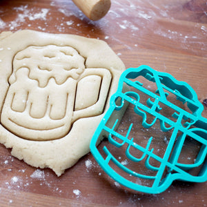 Beer Mug Cookie Cutter Custom