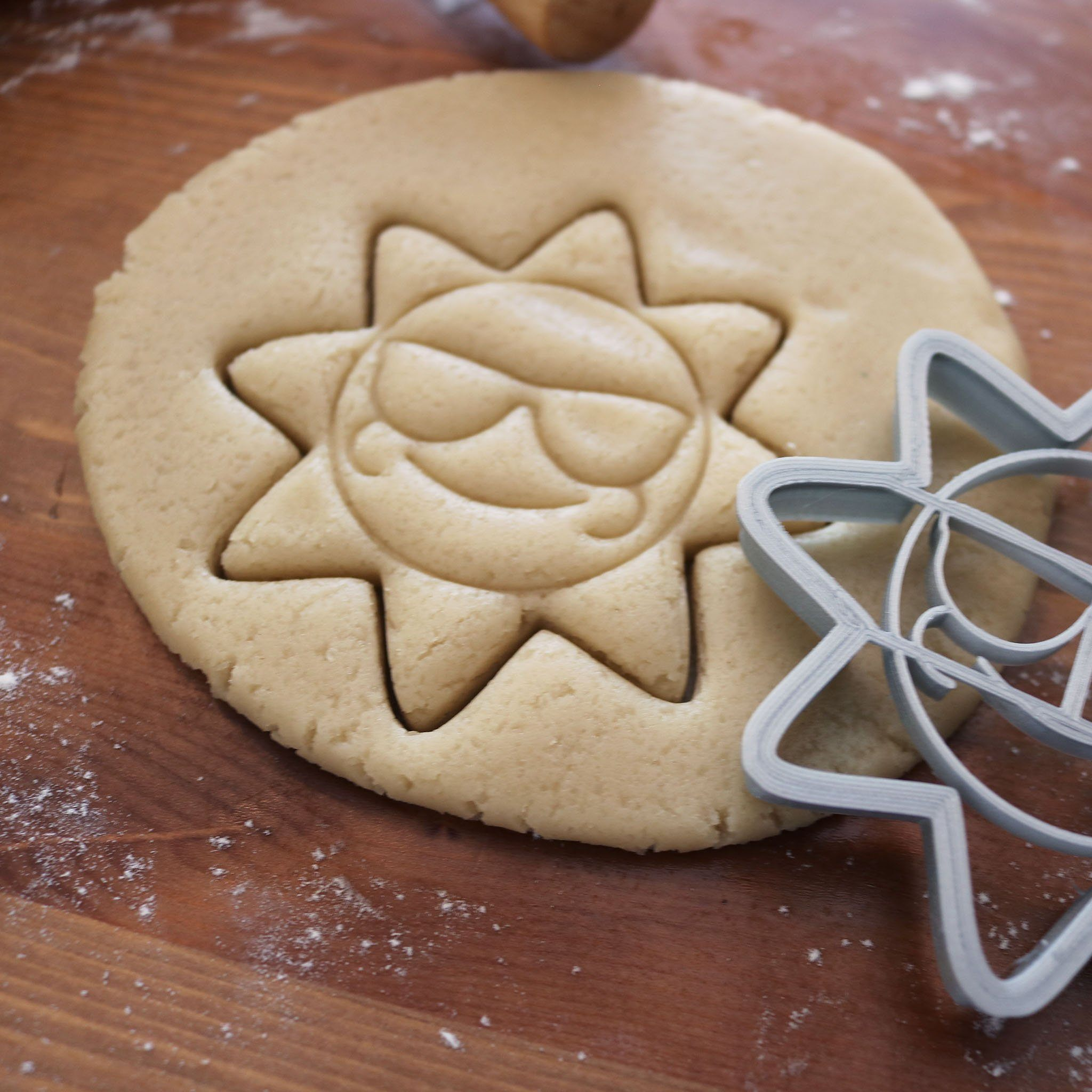 Kids Sun Cookie Cutter