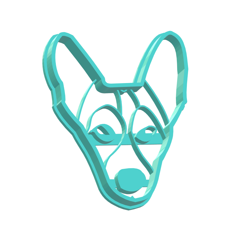 Custom Dog Cat Pet Cookie Cutter